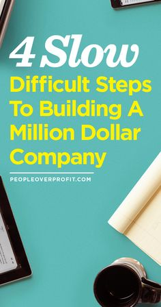 4 Slow Difficult Steps To Building A Million Dollar Company Creative Business, Business Tips, Business Company, Business Inspiration, Starting A Business, Things To Know, Good To Know, Just In Case, Helpful Hints