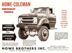 19601966 Chevy/GMC Pickup Truck Specs & Engine/Trans/Axle