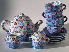 I want a tea set so badly.