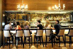 Lounge Bar Hospitality Furniture Design of Nios Restaurant, Manhattan  NY