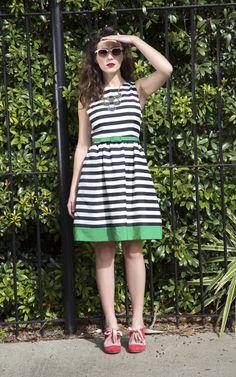 We spy some sweetly striped looks!