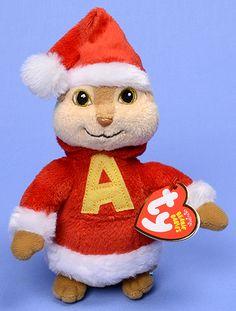 Alvin - Chipmunk - Ty Beanie Babies