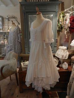 ROBE ATHENAIS BLANCHE EN COTON : Robe par froufrou-la-bourge