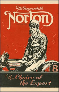 19 Ideas Norton Motorcycle Vintage Art For 2019 Norton Motorcycle, Motorcycle Posters, Motorcycle Art, Bike Art, Women Motorcycle, Motos Vintage, Vintage Bikes, Vintage Cycles, Vintage Advertisements