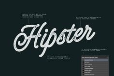 Type Distresser for Illustrator by Trailhead Design Co. on @creativemarket