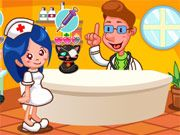 Free Online Girl Games, Help run an animal hospital as you take each patient to the doctor and then give them the appropriate treatment!  You'll have to hurry since these little pets are feeling sick!  Try to reach the goal for each day to move on to the next!, #pet #hospital #nurse #animal #cute #girl