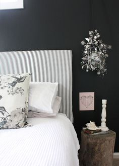 Really really want to do black walls. Really - did it! Extra bath - love it....want to paint the whole house black ;-)