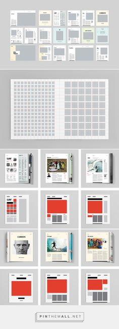 Inspirational Modern Magazine Re-Design - Transworld Surf - created via http://pinthemall.net