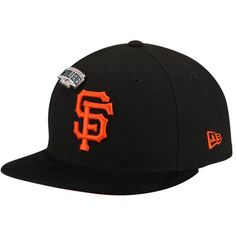 a176b1078004a8 San Francisco Giants New Era Pin Collection 9FIFTY Adjustable Snapback Hat  - Black