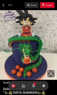 Boys 1st Birthday Party Ideas, Ball Birthday Parties, Baby Boy 1st Birthday, Goku Birthday, Dragon Birthday, Pretty Cakes, Beautiful Cakes, Tarta Dragon Ball, Dragonball Z Cake