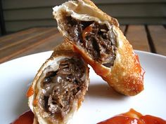 Philly Cheesesteak Egg Rolls ...One of my favorite appetizers EVER! An easy recipe with pictures and step by step instructions, A MUST TRY EVERYONE!