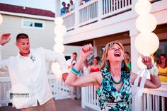 Chip and Alex's Wedding Photography in Nags Head, NC