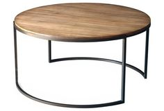 Taylor Round Coffee Table, Bronze