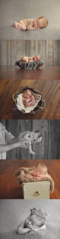 #DesMoines #Iowa newborn photographer, Darcy Milder | His & Hers
