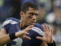 After leading the Seahawks to a 5-0 December in which they outscored opponents 193-60, Seattle quarterback Russell Wilson has been named the NFL Offensive Rookie of the Month. Description from blog.seattlepi.com. I searched for this on bing.com/images