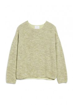 ARMEDANGELS   PIPPAA MOULINE Strick Pullover Allover - pistachio Loose Fit, Wolf, King Louie, Pullover, Catwalks, Pepe Jeans, Geisha, Karl Lagerfeld, Sweaters