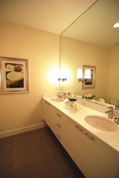 Master bathroom Eliora Left model home #zenodro.com