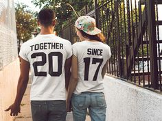 Together Since Couples Shirts Matching Tees for Couple