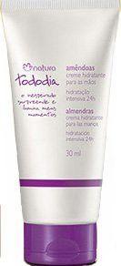 Linha Todo Dia Natura - Creme Hidratante para Maos Amendoas 30 Ml - (Natura Every Day Collection - Almonds Moisturizing Hand Cream 1.01 Fl Oz)