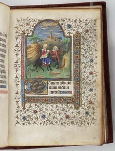 Book of Hours, use of Paris - Medieval Manuscripts