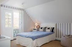 Villa Near Stockholm, design, décor, interior, Sweden, Stockholm, white, cozy, bedroom