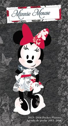 2013 Minnie Mouse Pocket Planner