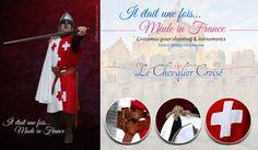 Costume de Chevalier Croisé -Godefroy de Montmirail, disponible pour shooting et…