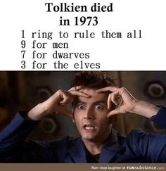 Likes, 94 Kommentare - Middle Earth / Tolkien Art (Immortal.tolkien) on Inst . - Game Of Thrones // Games and Movies World // Welcome Movie Memes, Book Memes, Funny Memes, Film Manga, O Hobbit, J. R. R. Tolkien, Thranduil, Legolas And Gimli, Book Fandoms