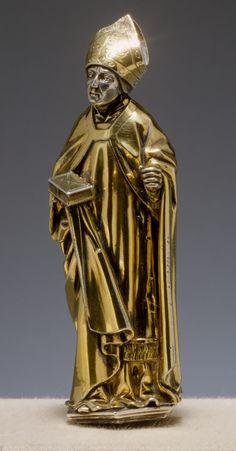 Standing Bishop,HANS VON REUTLINGEN, German bishop
