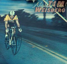 Alcuni esempi di copertine discografiche a tema ciclistico, qui un album di Tim Weisberg