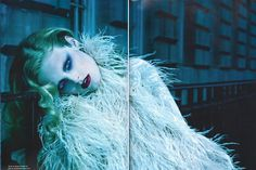 Hanne Gaby Odiele Is a Vixen of the Night In This Dark and Stormy Numéro Editorial
