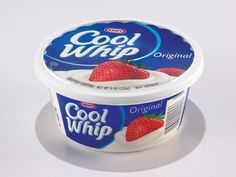 Everything in moderation should only apply to actual food! the label on cool whip reads like a chemistry experiment!