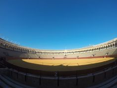 Bullring in Seville, Spain. One of the oldest in the world!