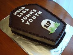 40th Birthday Cake Ideas For Men : Cool 40th Birthday Cakes for ...