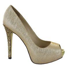 Occasions S Toe Fiesta Para Ocasiones High Or Menbur Peep O For Heel Golden Ceremony Ideal Ceremonia a With Glittery De Party Txw8wdH