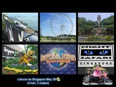 Holiday with niece and nephew to Singapore, May 2015