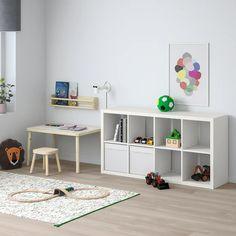 Kallax Shelving Unit - White Cm within Shelves For Living Room - Inspiration for Your HOME! Kallax Insert, Kallax Shelving Unit, Shelving Systems, Garage Shelving, Billy Regal, Ikea Kallax Regal, Ikea Kallax White, Etagere Design, Honeycomb Paper