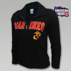 You need USMC women's apparel and Armed Forces Gear has it. Shop our ample selection of Marine women's shirts, sweatshirts, hats, and accessories in sizes from XS to Choose from color options! Women Marines, Female Marines, Marine Corps Baby, Marine Corps Tattoos, Semper Fi, Usmc, American Made, Athletic, Clothes For Women