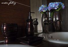 Retro koupelnové doplňky, baterie Sole olejem gumovaný bronz, http://www.waterfall-products.cz/n/elegantni-retro-koupelna-s-pakovymi-bateriemi