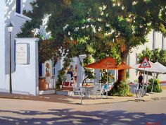 Four decades and Still Going Strong is the latest exhibition at the Artisan Gallery by well known artist and arts writer, John Smith. South Africa Art, Kwazulu Natal, John Smith, Art Photography, Art Gallery, Sidewalk, Fair Grounds, Street View, Patio