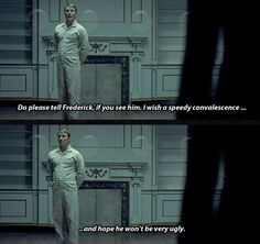 Hannibal you lil shit  I'll miss you very much. Hannibal 3x13 The Wrath of the Lamb. Source: sherlock-hannibal.tumblr