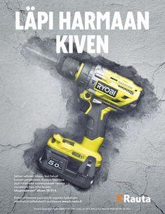 Huhtikuu on omistettu työkaluille! | Aikakausmedia Drill, Hole Punch, Drills, Drill Press