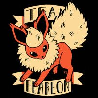 TEAM FLAREON - For all the fire type Eevee lovers!