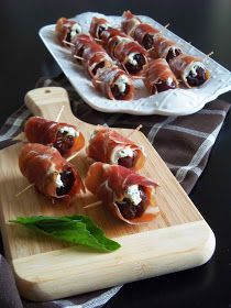 Simply Romanesco: Goat Cheese Stuffed Dates
