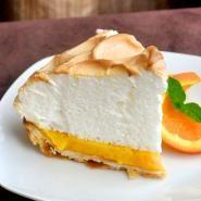Orange Curd Meringue Tart