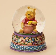 Winnie The Pooh Waterball Hunny Of A Bear Snow Globes by CHRISTMAS Gifts