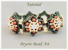 Beading tutorial instructions beadweaving by PeyoteBeadArt