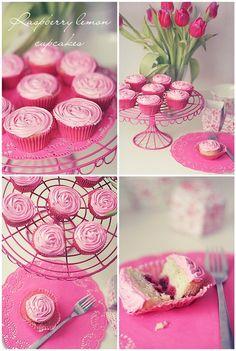cute rosette cupcakes