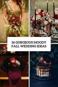 36 Wunderschöne Moody Fall Hochzeit Ideen  - Fall, Hochzeit, Ideen, Moody, wunderschöne - Mode Kreativ - http://modekreativ.com/2016/07/28/36-wunderschone-moody-fall-hochzeit-ideen.html