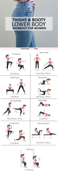 Sexy Summer Full Leg Workout - Lower body workout for women .- Sexy Summer Full Leg Workout – Lower body workout for women training - Slim Legs Workout, Full Leg Workout, Workout Body, Workout Fitness, Gym Workouts, At Home Workouts, Workout Routines, Workout Kettlebell, Fitness Exercises